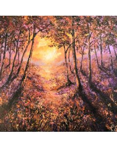 After Glow -Landscape painting