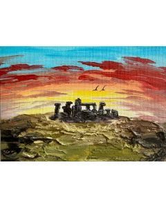Stone Henge in a Frame