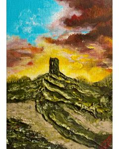 Glastonbury Tor in a Frame