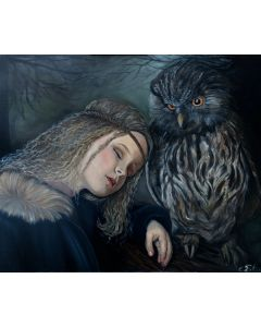 Girl and the Owl