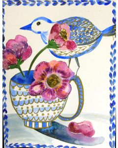 A Bird and a Cup