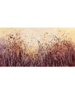 Never Ending Delights - Super sized original floral painting