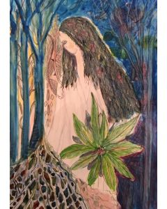 'In The Woods'  an original ,signed  painting