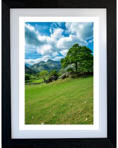 LANGDALE BOULDERS  - PORTRAIT Style - English Lake District - Limited Edition of 10 - FREE WORLDWIDE SHIPPING