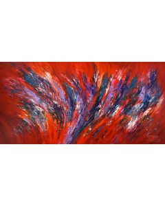 Red Energy Abstraction XXL 1
