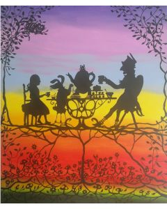 Mad Hatter's Tea Party (very large canvas)