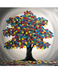 Magical Tree Of Colours