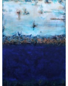 """XXL Serenity 122 x 91 (48"""" x 36"""") Textured Abstract Painting"""