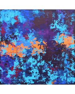 Abstract A Thousand Dreams 60 x 60cm Abstract Painting