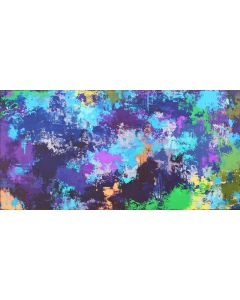 XXXL Abstract Toulouse 122 X 61cm Textured Abstract Painting