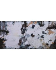 XXXL Abstract Montpellier 160 x 80cm Textured Abstract Painting