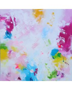 XXL Abstract Close Your Eyes and Dream 100 x 100cm Abstract Painting