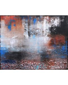 Raw Earth I 50 x 40cms Textured Abstract Painting