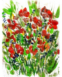 Spring flowers Floral Meadow -  For Mothers Day