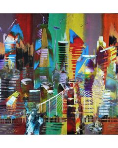 New York City Abstract Painting 853