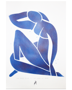 Other People's Paintings Only Much Cheaper: No.2 Matisse (on paper)