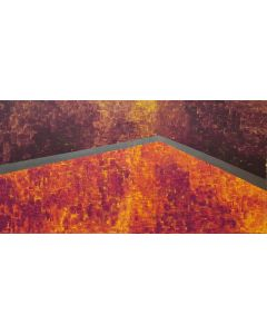 On the hot roof No.2 - diptych