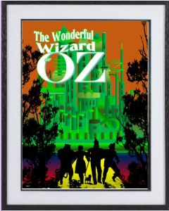 The Wizard of Oz: large framed limited edition print