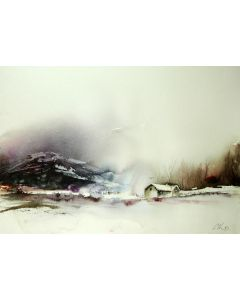 Peak, Original Watercolour painting.