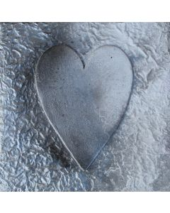 Pewter Heart