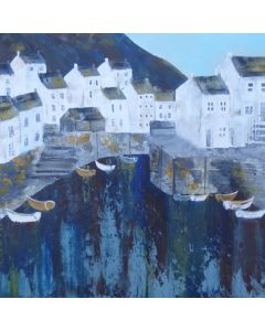 Polperro Harbour Colours