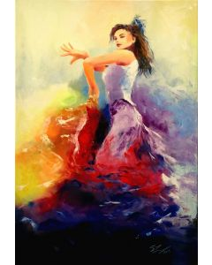 Rainbow, Flamenco dancer