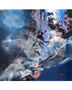 Beautiful abstract mindscape serenity restless space by master O Kloska