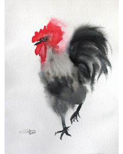 ROOSTER II - PET PORTRAIT