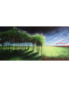 Early Summer Storm - Fields and Colors Series