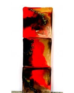 Abstract Santa Fe Triptych