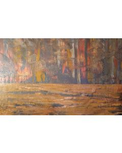 Sudden change - XXL abstract painting
