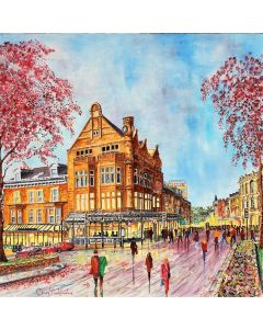 Betty's Cafe  Tea Rooms   Harrogate spring time   SN 0241