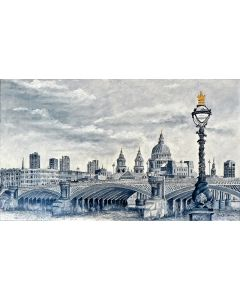 London Grey Skies.   SN O44    Limited Edition  Print  of 75