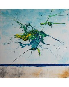 Satelite (Spirits Of Skies 100094) (100 x 100 cm) XXL (40 x 40 inches)