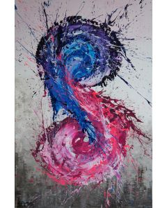Yin And Yang (Spirits Of Skies 096115) - 80 x 120 cm - XL (32 x 48 inches)