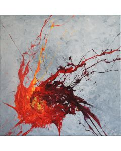 Crossfire (Spirits Of Skies 036128) - 60 x 60 cm (24 x 24 inches)