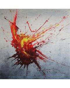 Eruption (Spirits Of Skies 100130) (100 x 100 cm) XXL (40 x 40 inches)