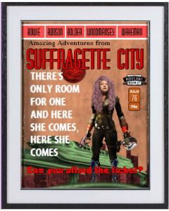 Suffragette City:  large Bowie limited edition print