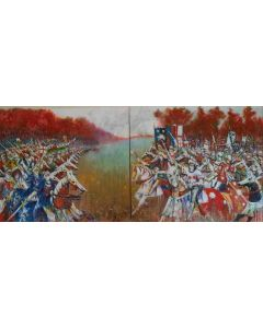 The charge at the Battle of Bosworth field 1485