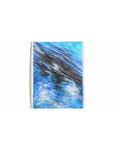 Fast Waves| Gouache Waves Painting on 160gsm Paper | Original Painting (Unframed)