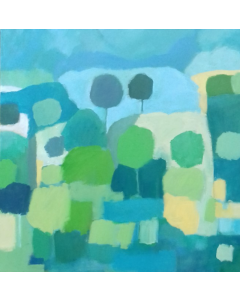 Abstract Hampshire Landscape III