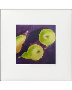 Two and Half Pears Original Oil