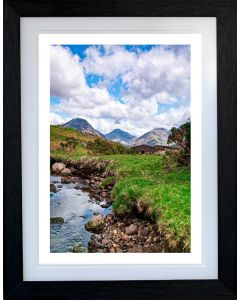 WASTWATER LANDING STAGE BRIDGE - English Lake District - Limited Edition of 10 - FREE WORLDWIDE SHIPPING