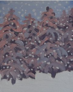 Winter Forest (original 8x10inches)