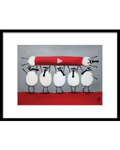 Ewe-Tube (Limited Edition Print)