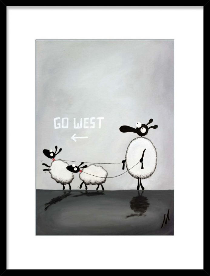 Pet Sheep Boys (Limited Edition Print)