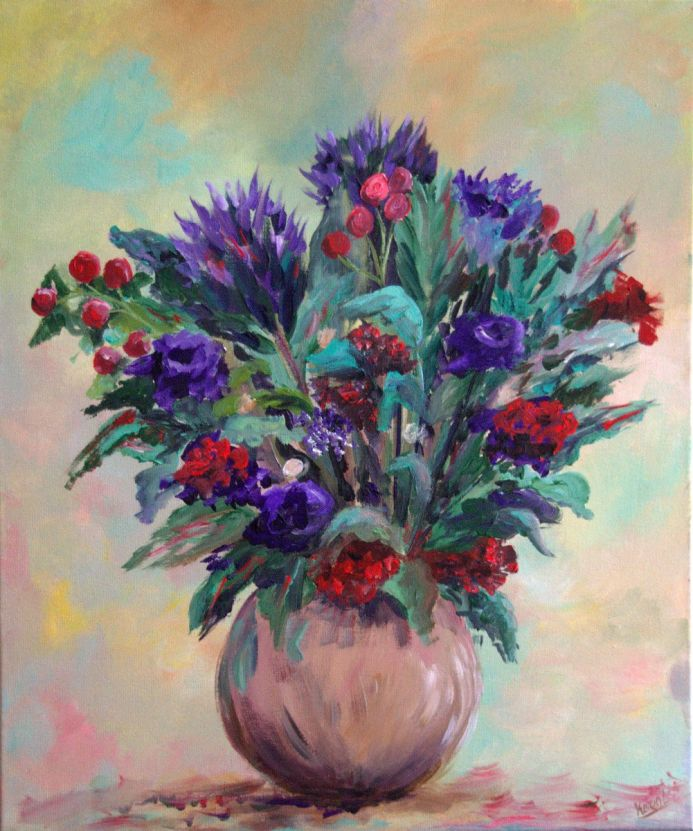 Large Bouquet of Flowers
