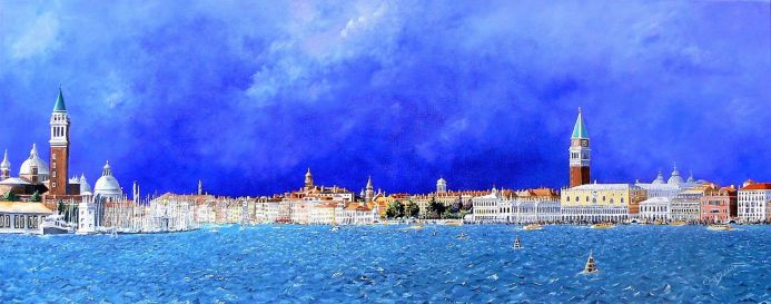 Venice  Titled Goodbye Venice    SN 054 Limited Edition