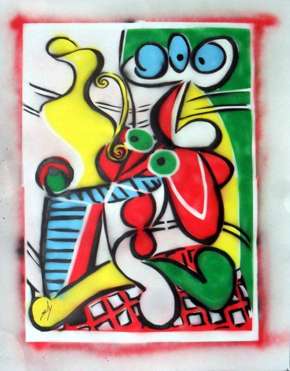 Other People's Paintings Only Much Cheaper: No.1 Picasso.