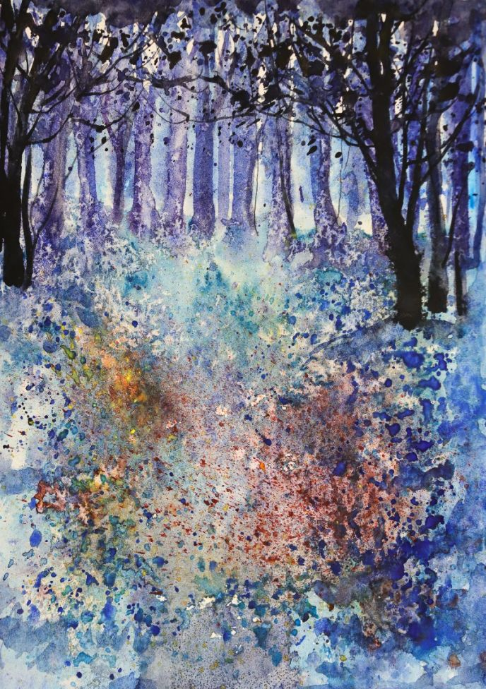 Abstract_Trees_Blue